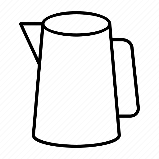dispenser, jug, kettle, pitcher, water icon