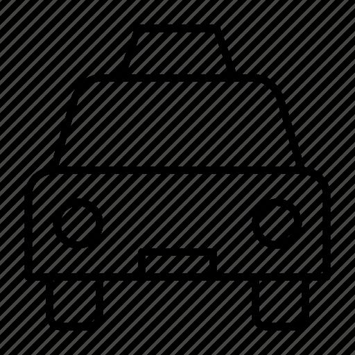cab, driver, fare, lift, taxi icon