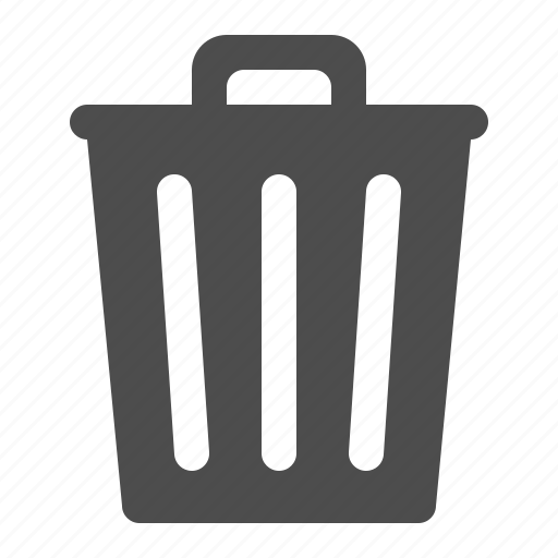 Bin, delete, garbage, recycle, remove, trash icon - Download on Iconfinder