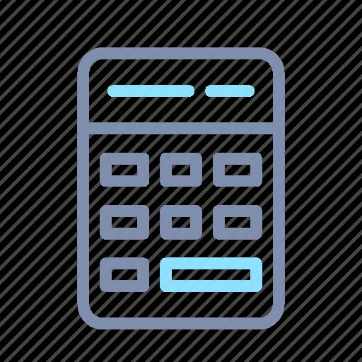 accounting, calculator, finance, math icon
