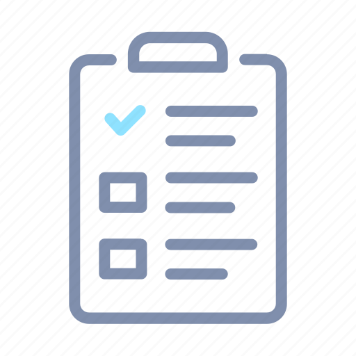 business, clipboard, paper, report icon