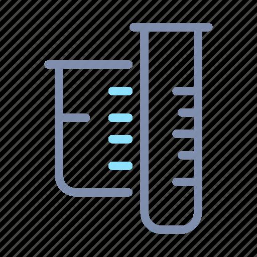 chemistry, glassware, lab, laboratory, research, science, tube icon
