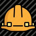 engineer, engineering, helmet, protection, security icon