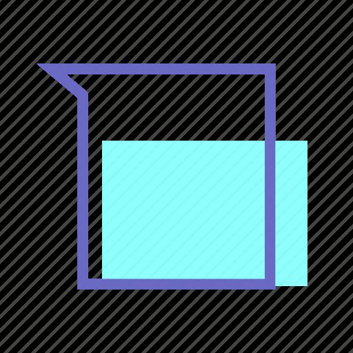 artboard, beaker, chemistry, glass measurement, lab, laboratory icon