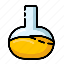 chemistry, flask, formula, laboratory icon