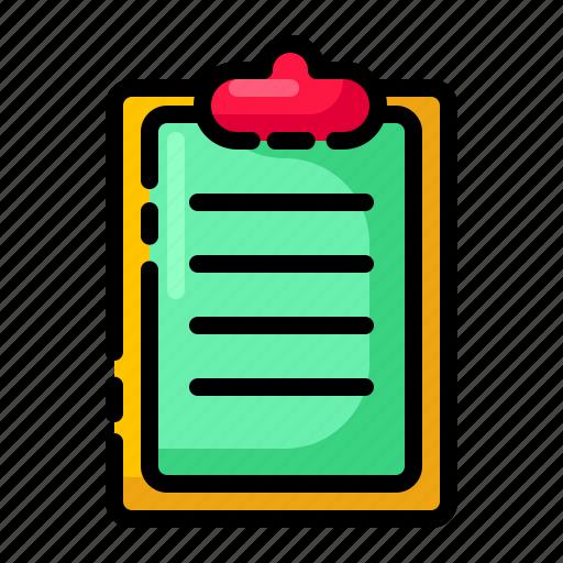 laboratory, report, schedule, task icon
