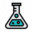 biology, education, glass, laboratory, research, science, triangle