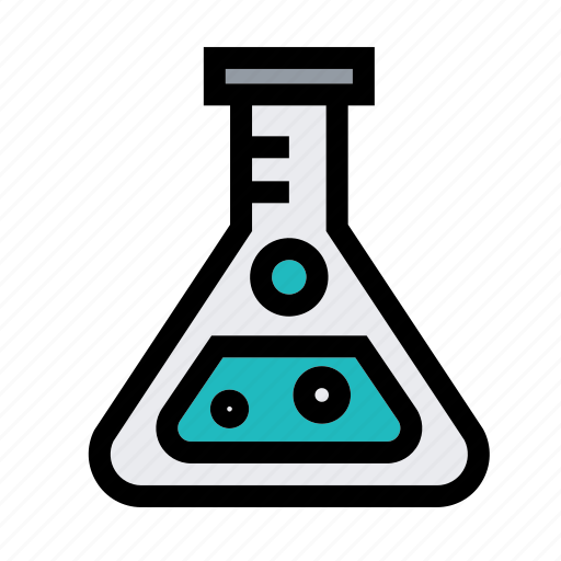 Biology, education, glass, laboratory, research, science, triangle icon - Download on Iconfinder