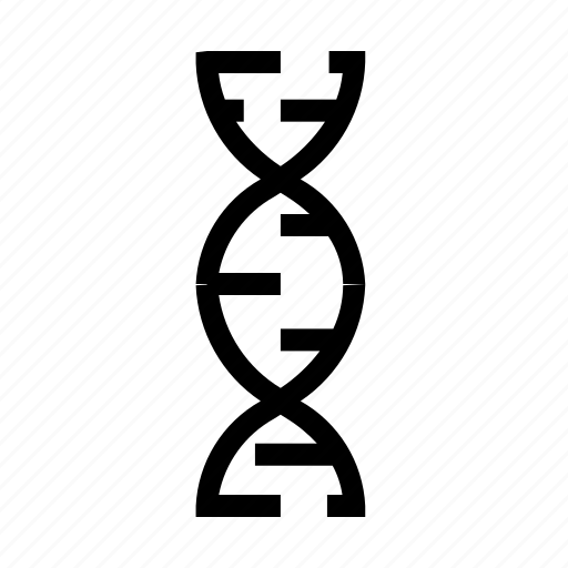 biology, dna, education, laboratory, research, science icon