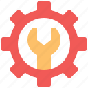 gear, wrench, labour, setting, tools, cogwheel, industry