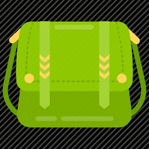 accessory, athletic bag, handbag, ladies bag, women bag icon