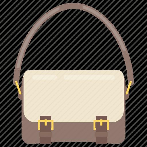 handbag, ladies bag, ladies purse, saddle bag, shoulder bag icon
