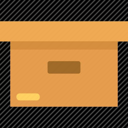 box, goods, laden, pallet, shipment, storage, warehouse icon