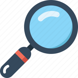 explore, find, loop, magnifier, search, view, zoom icon