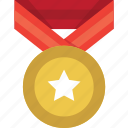 achievement, award, best, medal, prize, reward, winner icon