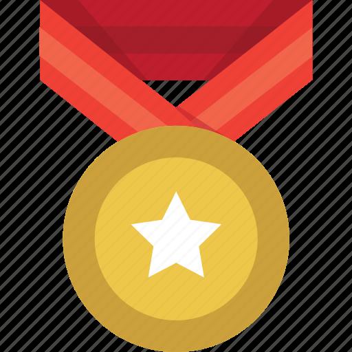 achievement, award, best, medal, prize, reward, winner icon