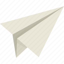 letter, mail, message, paper, paperplane, plane, send icon