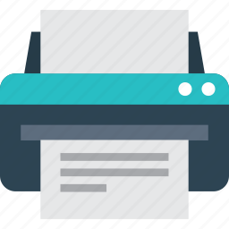 device, fax, hardware, office, print, printer icon