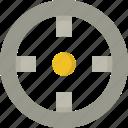 aim, bullseye, crosshair, goal, objective, target icon