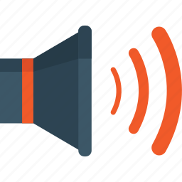 audio, control, sound, speaker, volume icon