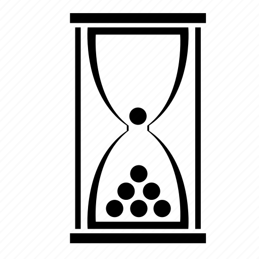 glass, hope, hopefulness, hourglass, waiting icon