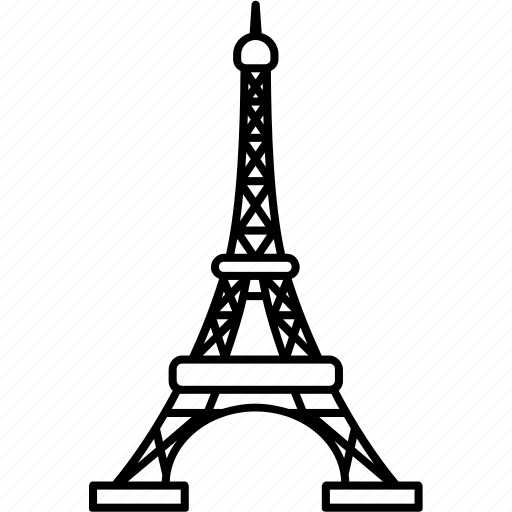 architecture, eiffel, europe, french, landmark, paris, tower icon