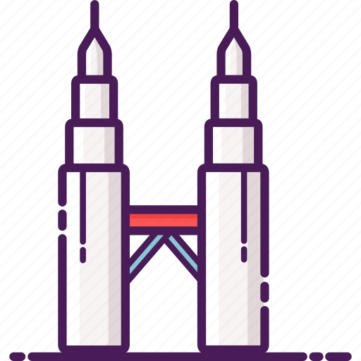 architecture, landmark, malaysia, petronas twin tower, tower icon