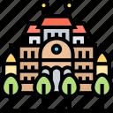 belvedere, palace, vienna, austria, historic