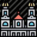 primatial, cathedral, bogota, colombia, architecture