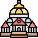 romanian, athenaeum, hall, romania, architecture