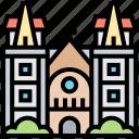 saigon, basilica, cathedral, vietnam, church