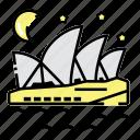 australia, landmark, opera, sydney
