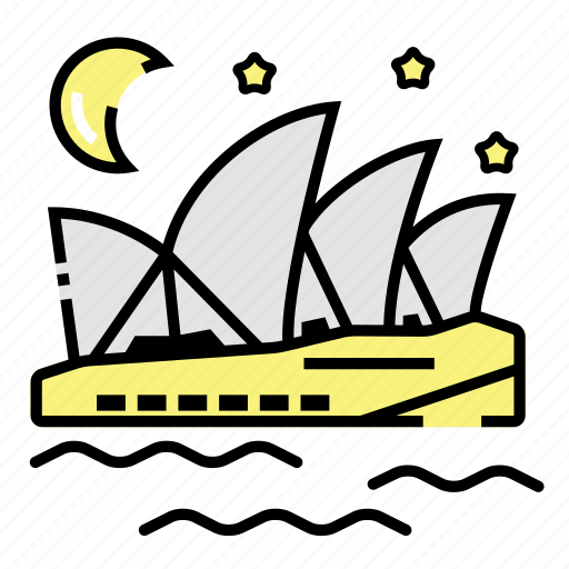 Australia, landmark, opera, sydney icon - Download on Iconfinder
