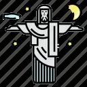 brazil, christ, jesus, rio icon