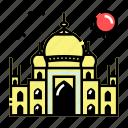 india, islam, landmark, mosque icon