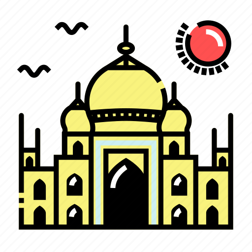 India, islam, landmark, mosque icon - Download on Iconfinder