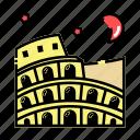 colloseum, italy, landmark, rome icon