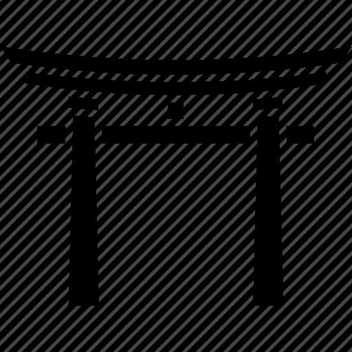 gate, inari, japan, kyoto, landmark, shrine, torii icon