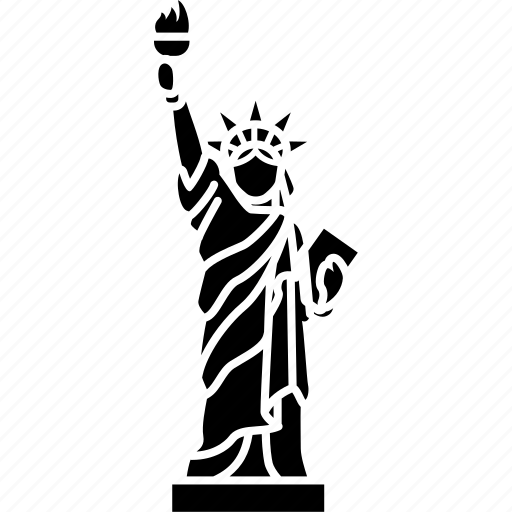 america, landmark, liberty, new york, statue, usa icon