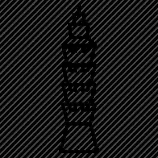 architecture, building, cityscape, landmark, skyscraper, taipei 101, taiwan icon