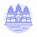 angkor, architecture, cambodia, construction, landmarks, national, reap, siem, symbol, temple, wat icon