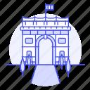 arch, architecture, france, landmarks, national, paris, structure, symbol, triumph icon