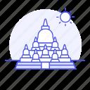 borobudur, candi, central, indonesia, java, landmarks, magelang, national, symbol, temple