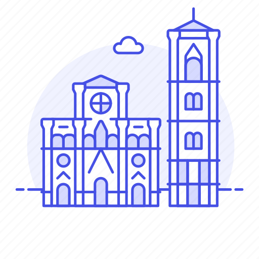 architecture, cathedral, florence, italy, landmarks, monument, national, symbol icon