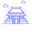 beijing, china, city, dongcheng, forbidden, landmarks, national, palace, symbol icon