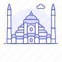 architecture, construction, hagia, istanbul, landmarks, national, sophia, symbol, turkey icon