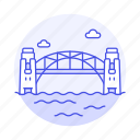 architecture, australia, bridge, construction, harbor, landmarks, national, sydney, symbol icon