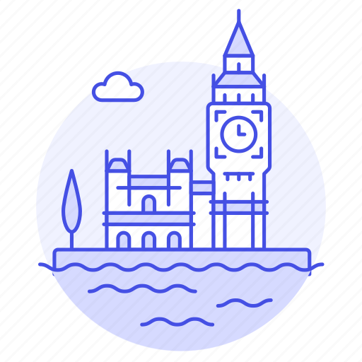 england, houses, landmarks, london, national, of, palace, parliament, westminster icon