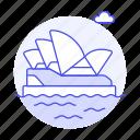 architecture, australia, building, house, landmarks, national, opera, sydney, symbol icon