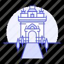 architecture, gate, landmarks, laos, monument, national, patuxai, symbol, triumph, vientiane